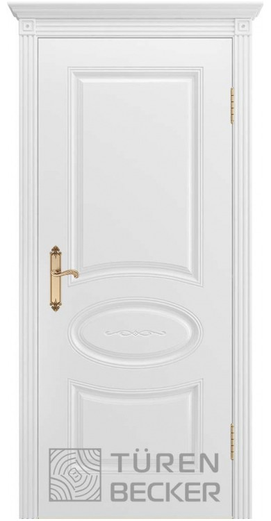 Дверь ПРОВАНС В1 ПГ белая эмаль
