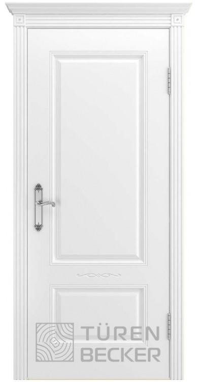 Дверь ВЕНЕЦИЯ В1 ПГ белая эмаль