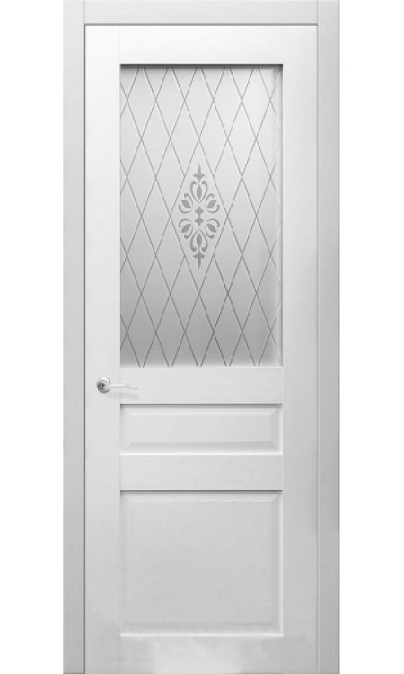 Дверь Кэтрин Белый рифленый 11.00